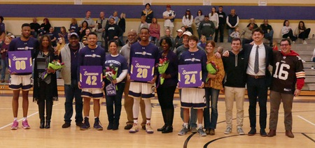 Sewanee men's basketball defeats Centre on Senior Night